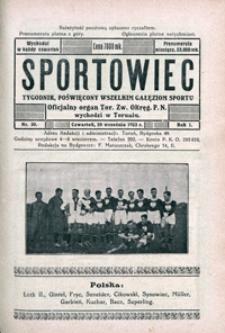 Sportowiec, 1923, nr 30