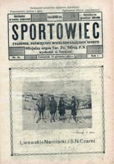 Sportowiec, 1923, nr 42