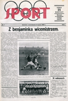 Sport, 1930, nr 7