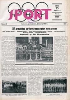 Sport, 1930, nr 8