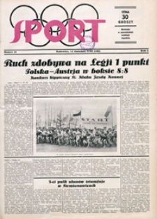 Sport, 1930, nr 11