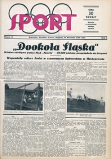 Sport, 1930, nr 13
