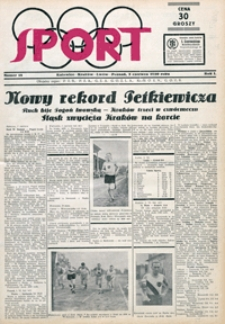 Sport, 1930, nr 18