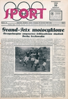 Sport, 1930, nr 19