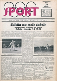 Sport, 1930, nr 20