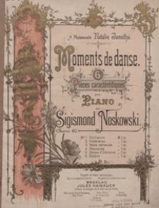 """Valse serieuse : piece caracteristique fis-moll : op.40 No 3 : pour piano : [z cyklu] """"Moments de danse"""""""