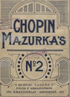 Mazurka a-moll : op.7, No 2 : [fur Pianoforte]