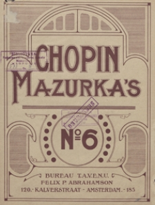 Mazurka e-moll : op.17, No 2 : [fur Pianoforte]