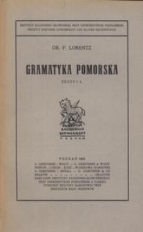Gramatyka Pomorska, z. 5