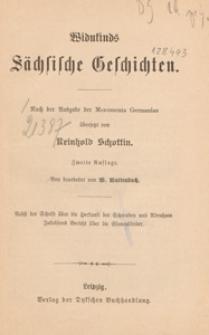 Widukinds Sächschische Geschichten