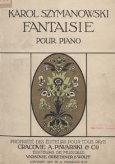 Fantaisie : C-dur : op. 14 : pour piano
