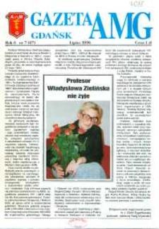 GazetAMG, 1996, R. 6, nr 7