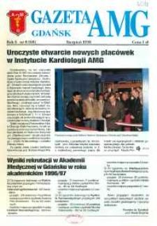 GazetAMG, 1996, R. 6, nr 8