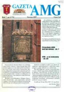 GazetAMG, 1997, R. 7, nr 1