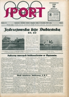 Sport, 1930, nr 31