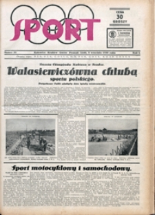 Sport, 1930, nr 32