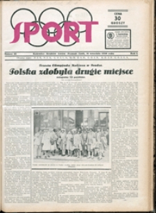 Sport, 1930, nr 33