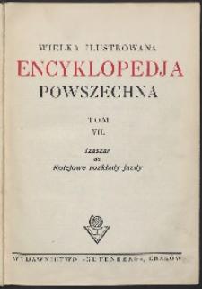 Wielka ilustrowana encyklopedia powszechna, T. 7, Izaszar do Kolejowe rozkłady jazdy