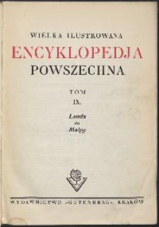 Wielka ilustrowana encyklopedia powszechna, T. 9, Lauda do Małpy
