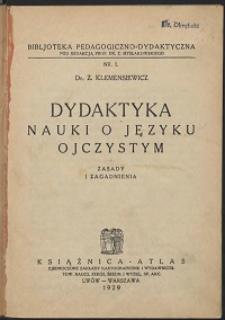 Bibljoteka pedagogiczno-dydaktyczna Nr 1
