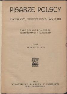 Pisarze polscy