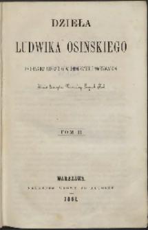 Dzieła Ludwika Osińskiego