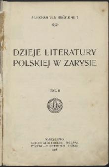 Dzieje literatury polskiej w zarysie