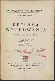 Biblioteka przekładów dzieł pedagogicznych t. 19