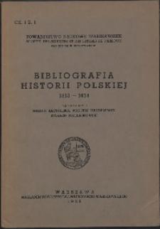 Bibliografia historii polskiej, 1815 - 1914