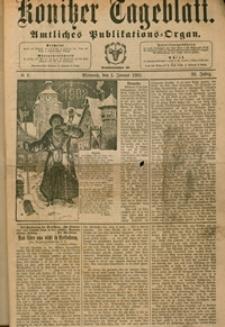 Konitzer Tageblatt.Amtliches Publikations=Organ, nr.1