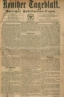 Konitzer Tageblatt.Amtliches Publikations=Organ, nr.2