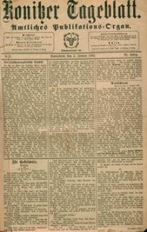 Konitzer Tageblatt.Amtliches Publikations=Organ, nr.3
