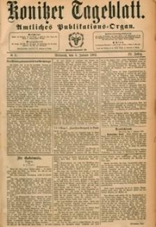Konitzer Tageblatt.Amtliches Publikations=Organ, nr.6