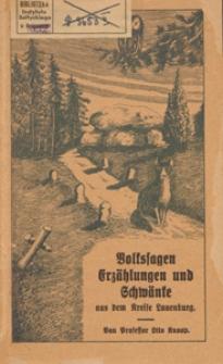 Volkssagen Erzählungen und Schwänke aus dem Kreise Lauenburg