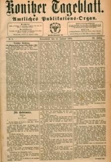 Konitzer Tageblatt.Amtliches Publikations=Organ, nr.9
