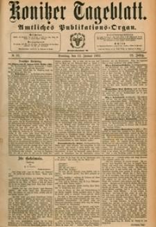 Konitzer Tageblatt.Amtliches Publikations=Organ, nr.10