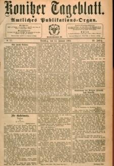 Konitzer Tageblatt.Amtliches Publikations=Organ, nr.11
