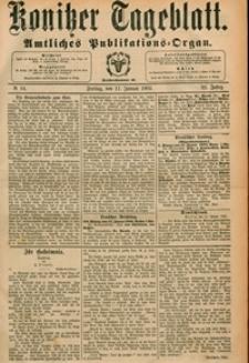 Konitzer Tageblatt.Amtliches Publikations=Organ, nr.14
