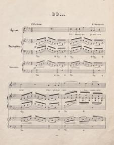 """Do... = [Widmung] : [pieśń z cyklu """"Myrthen""""] : As-dur : [op. 25 nr 1] : na mezzo soprano z towarzyszeniem fortepianu / w przekł. pol. Jana Chęcińskiego"""