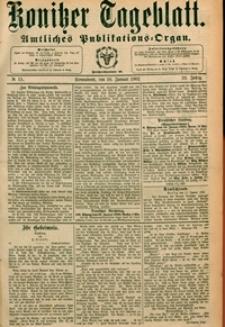 Konitzer Tageblatt.Amtliches Publikations=Organ, nr.15