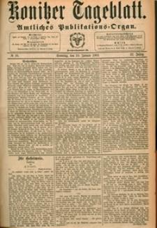 Konitzer Tageblatt.Amtliches Publikations=Organ, nr.16