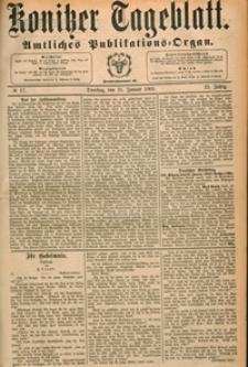 Konitzer Tageblatt.Amtliches Publikations=Organ, nr.17