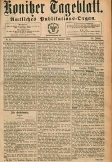 Konitzer Tageblatt.Amtliches Publikations=Organ, nr.19