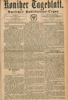 Konitzer Tageblatt.Amtliches Publikations=Organ, nr.20