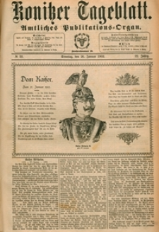 Konitzer Tageblatt.Amtliches Publikations=Organ, nr.22