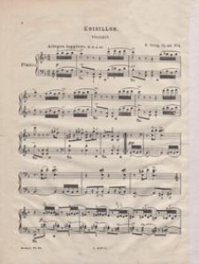 Morceaux lyriques : Cah. III : Oisillon = Lyrische Stücke : Heft III : Vöglein : d-moll : pour piano : op. 43 no 4
