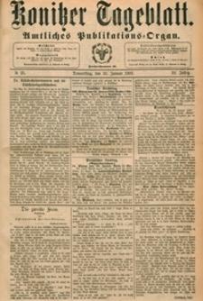 Konitzer Tageblatt.Amtliches Publikations=Organ, nr.25