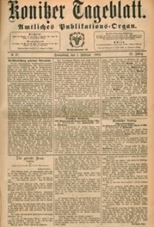 Konitzer Tageblatt.Amtliches Publikations=Organ, nr.27