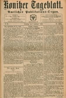 Konitzer Tageblatt.Amtliches Publikations=Organ, nr.28