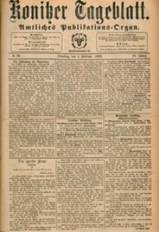 Konitzer Tageblatt.Amtliches Publikations=Organ, nr.29